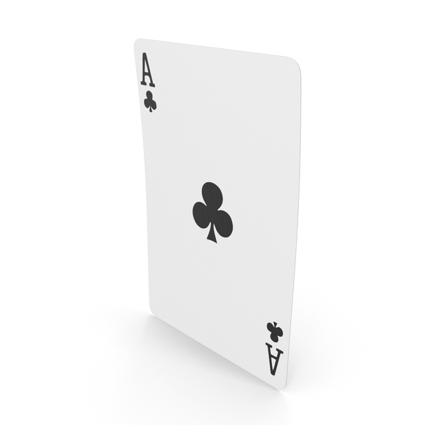 Playing Cards Ace of Clubs PNG & PSD Images