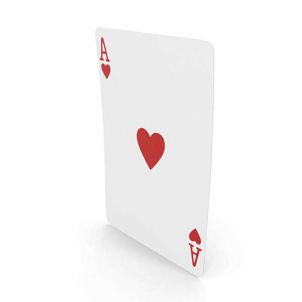 Playing Cards Ace of Hearts PNG & PSD Images