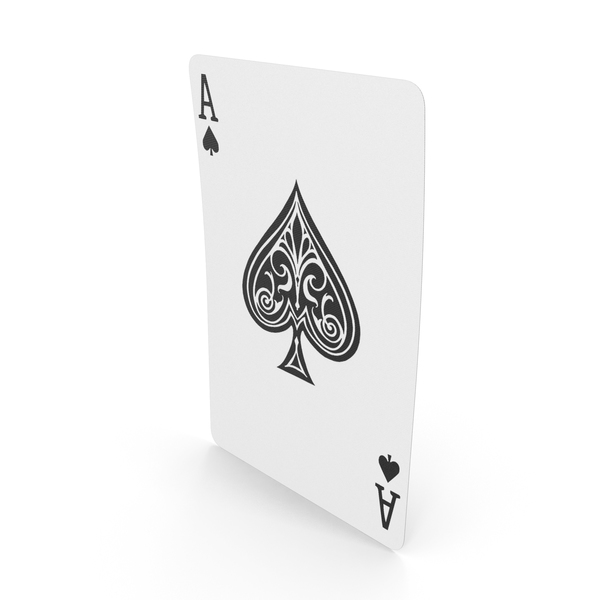 Playing Cards Ace of Spades PNG & PSD Images
