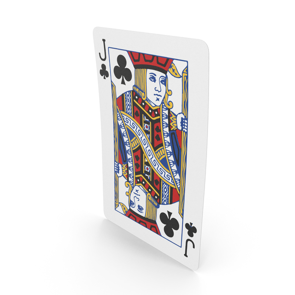 Playing Cards Jack of Clubs PNG & PSD Images