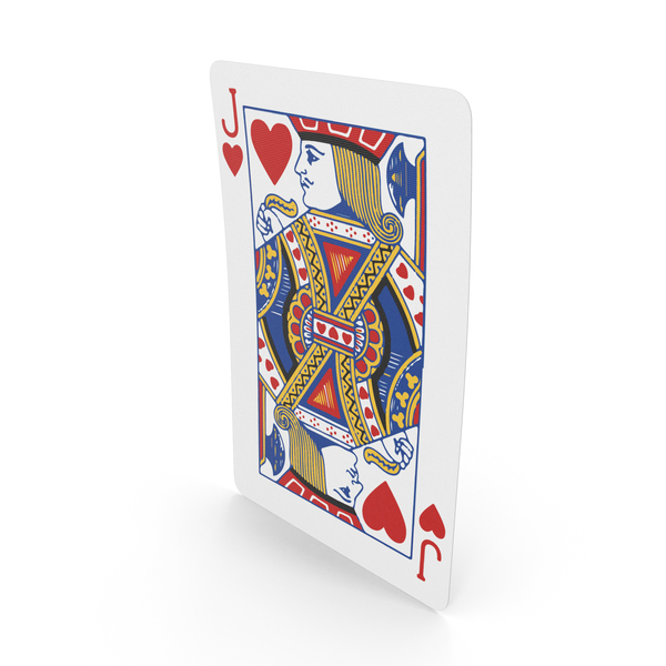Playing Cards Jack of Hearts PNG & PSD Images