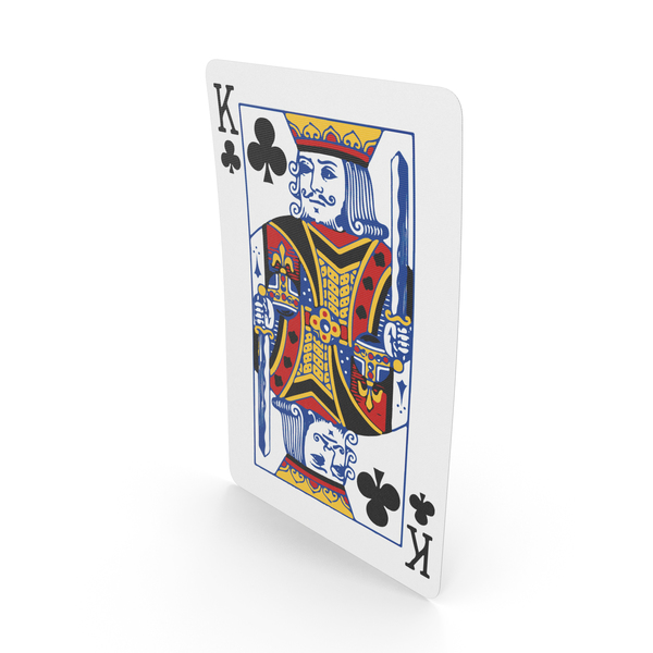 Playing Cards King of Clubs PNG & PSD Images