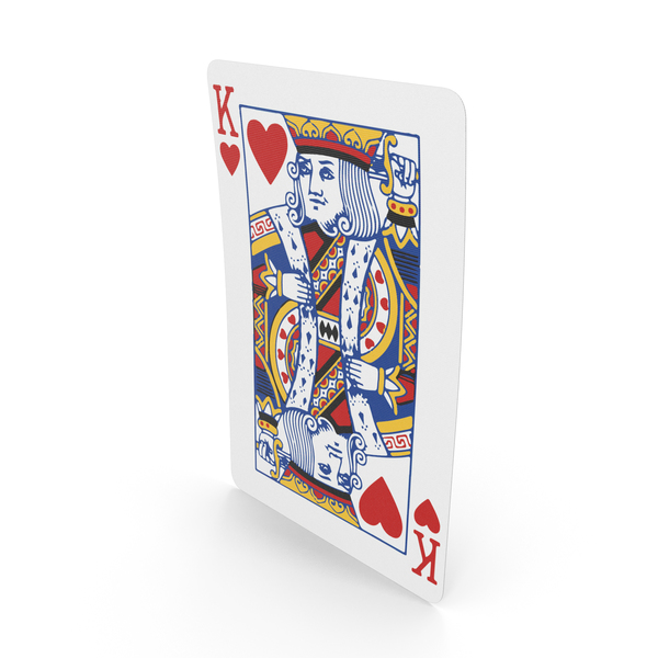 Playing Cards King of Hearts PNG & PSD Images