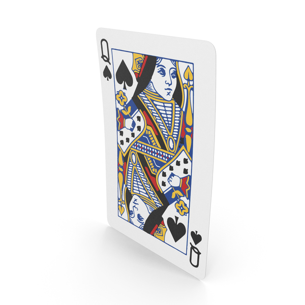 Playing Cards Queen of Spades PNG & PSD Images