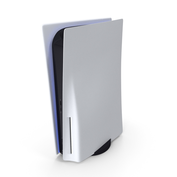 PlayStation 5 With A Disk Drive PNG & PSD Images