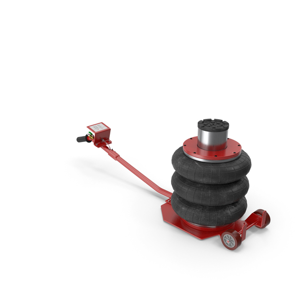 Pneumatic Triple Bag Car Jack 3 Ton PNG & PSD Images
