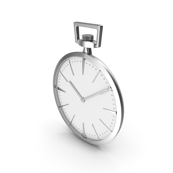 Pocket Watch With Mechanism PNG & PSD Images