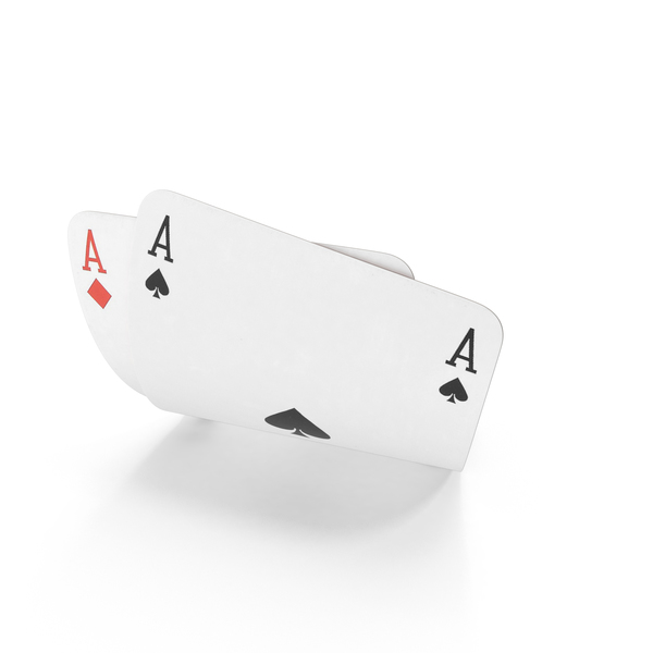 Playing Cards: Poker Hand Aces PNG & PSD Images