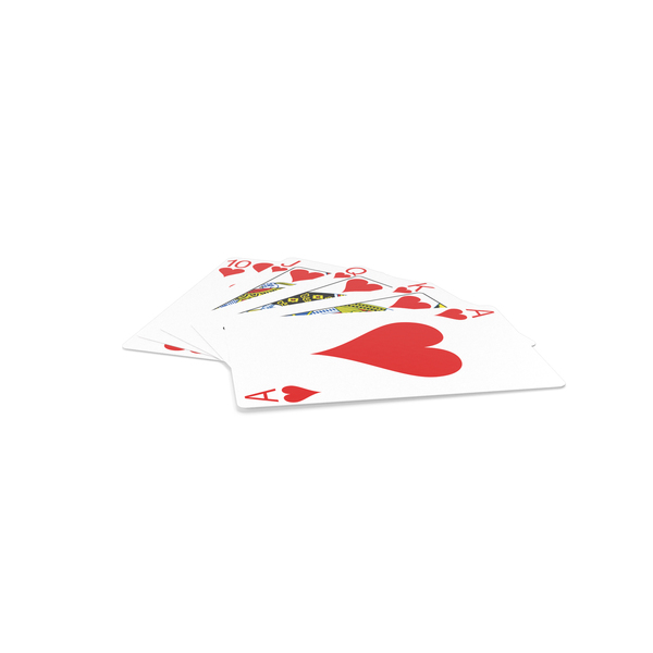Poker Royal Straight Flush PNG & PSD Images