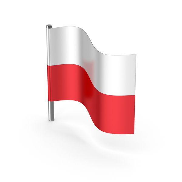 Poland Cartoon Flag PNG & PSD Images
