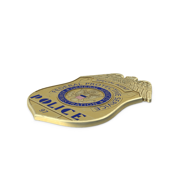 Police Badge Object