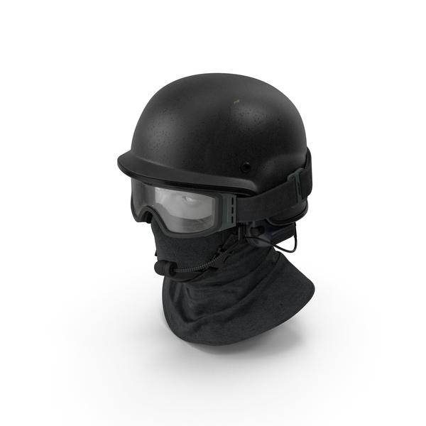 Police Ballistic Helmet PNG & PSD Images