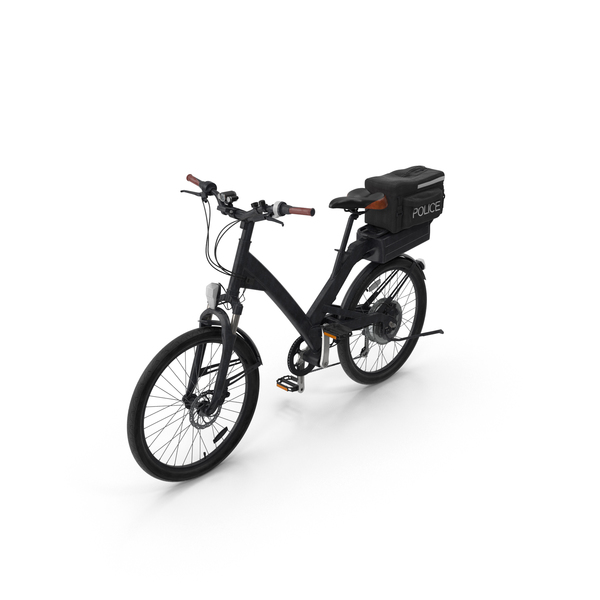 Bicycle: Police Bike PNG & PSD Images