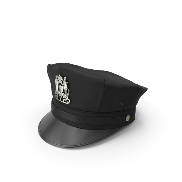 Police Hat Object