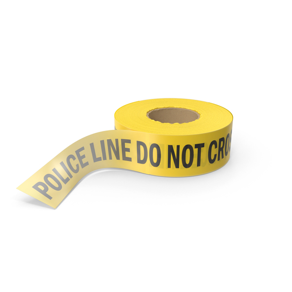 Police Tape PNG & PSD Images