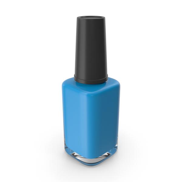 Polish Fingernail Blue PNG & PSD Images