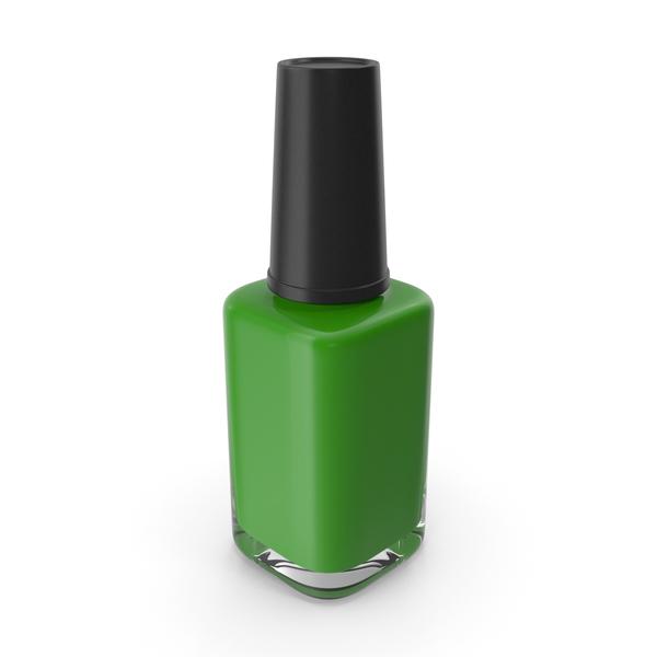 Nail Brush: Polish Fingernail Green PNG & PSD Images