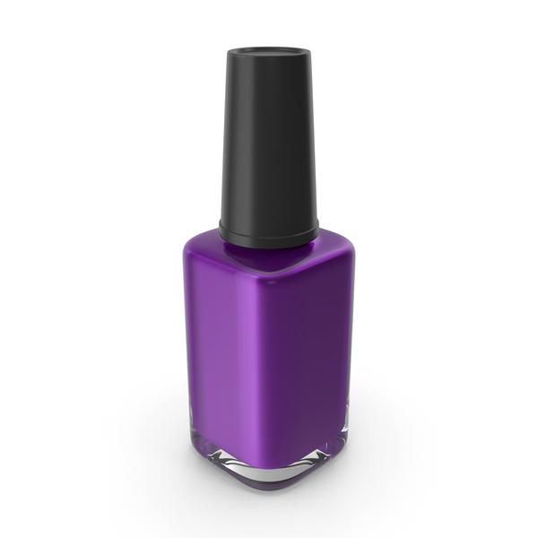 Nail Brush: Polish Fingernail Purple PNG & PSD Images