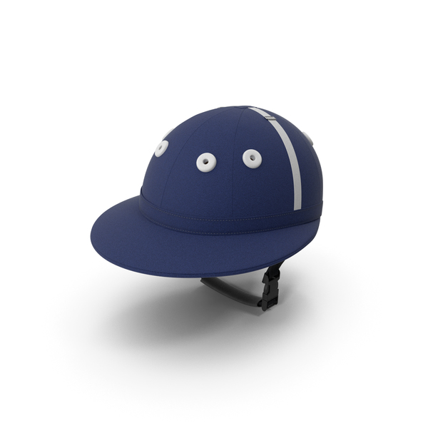 Polo Helmet Navy Blue PNG & PSD Images