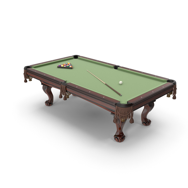 Pool Table 8ft Classic style Douglas PNG & PSD Images