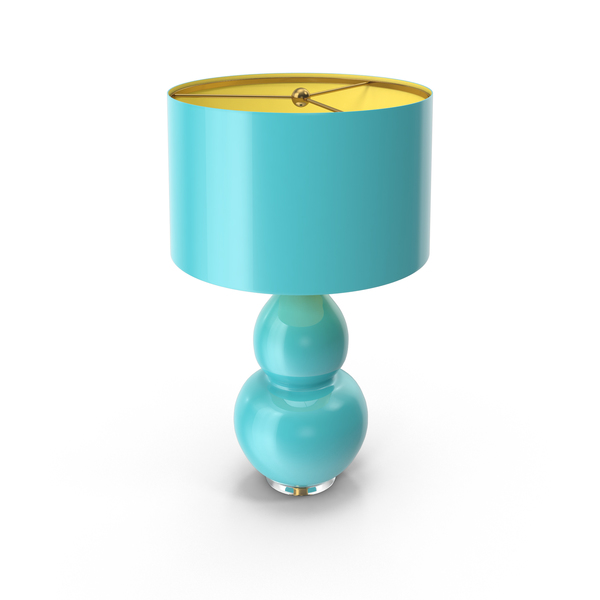 Pop Color Modern Ceramic Lamp PNG & PSD Images
