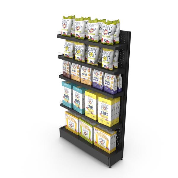 Supermarket: Popcorn Shelving PNG & PSD Images