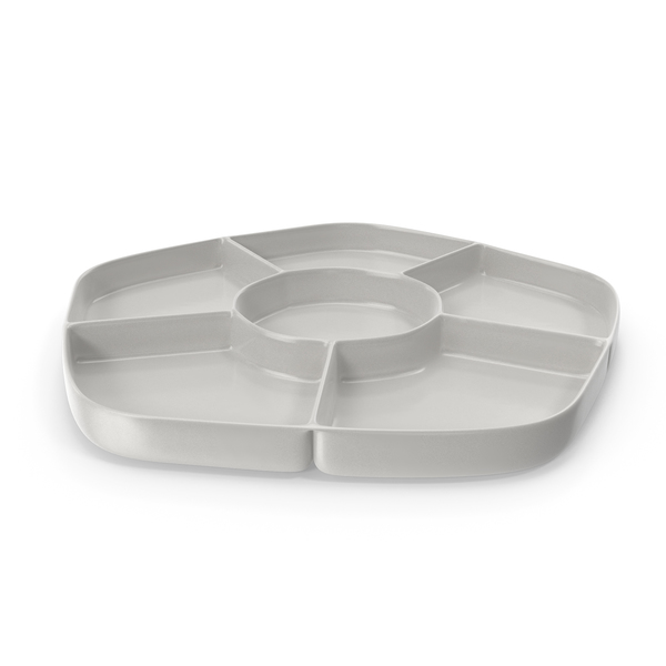 Porcelain 6 Compartment Bowl PNG & PSD Images