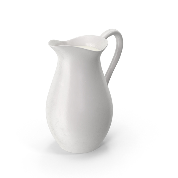 Porcelain Carafe of Milk PNG & PSD Images