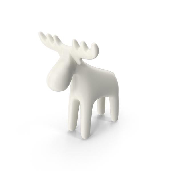 Porcelain Reindeer PNG & PSD Images