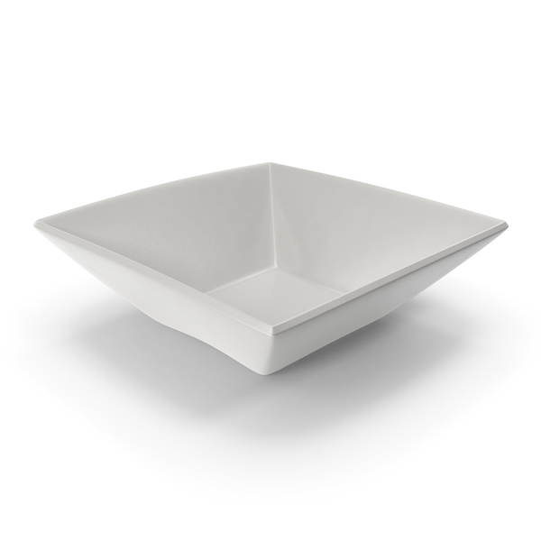 Porcelain Square Bowl PNG & PSD Images
