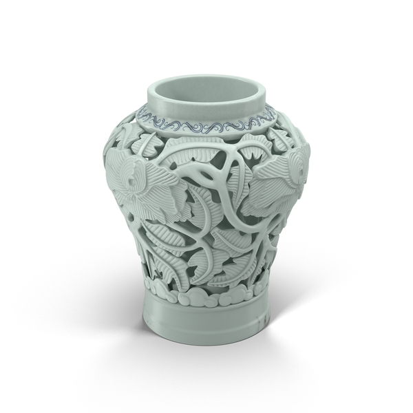 Porcelain Urn Object