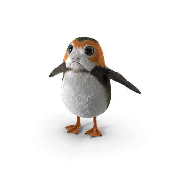 Fantasy And Fictional: Porg PNG & PSD Images