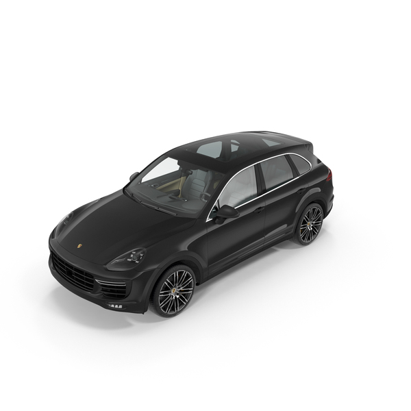 Porsche Cayenne Turbo S 2015 PNG & PSD Images