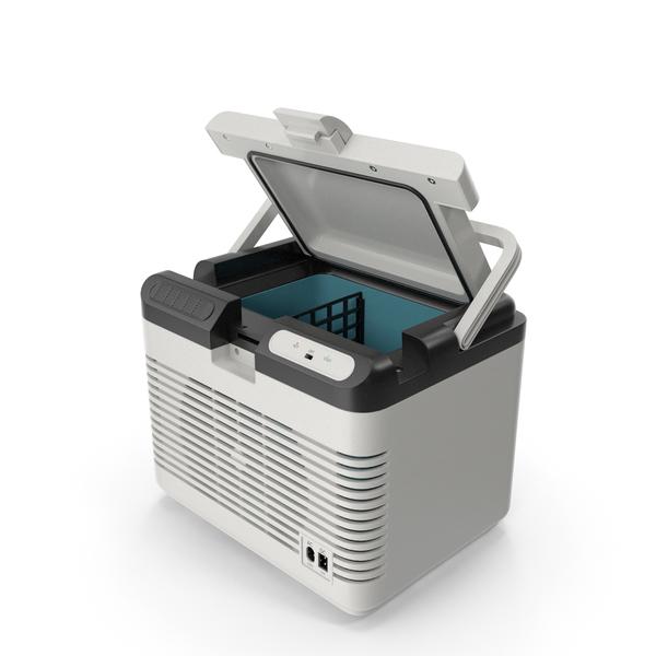 Cooler: Portable Car Refrigerator PNG & PSD Images