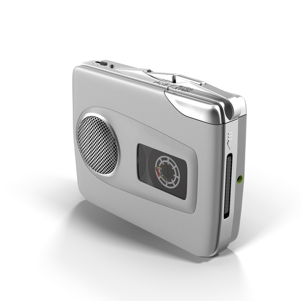 Personal: Portable Cassette Player PNG & PSD Images