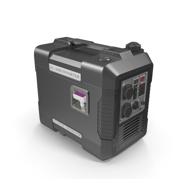 Ground Power Units: Portable Generator Black PNG & PSD Images