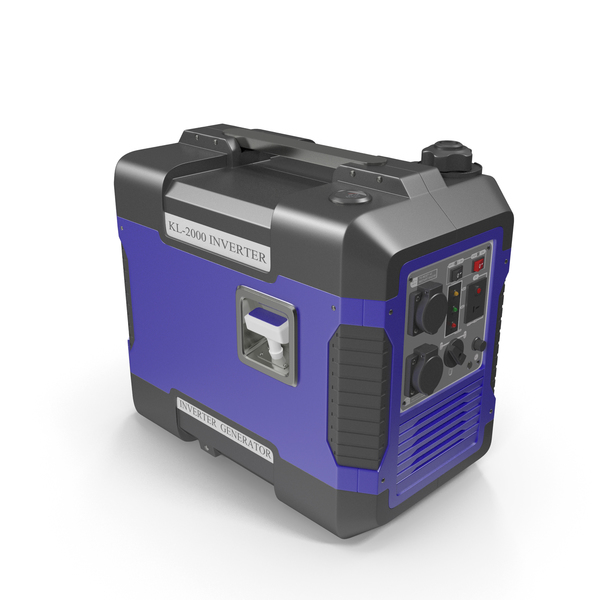 Ground Power Units: Portable Generator Blue PNG & PSD Images
