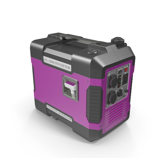 Ground Power Units: Portable Generator Pink PNG & PSD Images