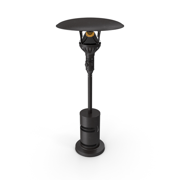 Portable Propane Gas Patio Heater On PNG & PSD Images