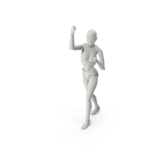 Characters: Posed Female Figure PNG & PSD Images