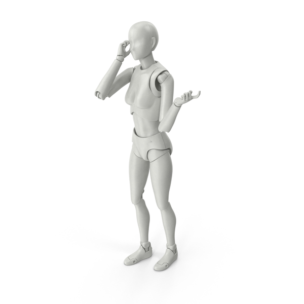 Characters: Posed Female Figure Object