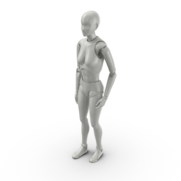 Posed Female Figure PNG & PSD Images