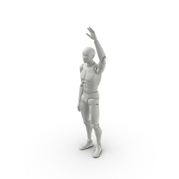 Posed Male Figure PNG & PSD Images
