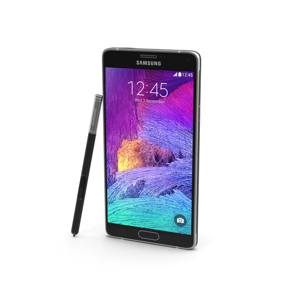 Posed Samsung Galaxy Note 4 PNG & PSD Images