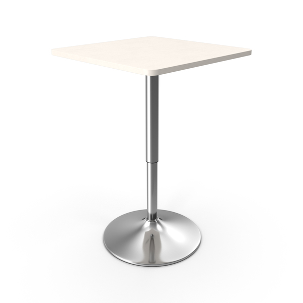 Cafe: Poseur Bar Table PNG & PSD Images