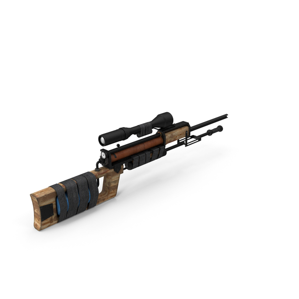 Post Apocalyptic PCP Rifle PNG & PSD Images