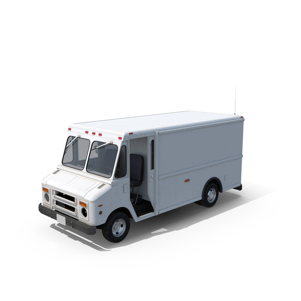 Post Office Truck PNG & PSD Images