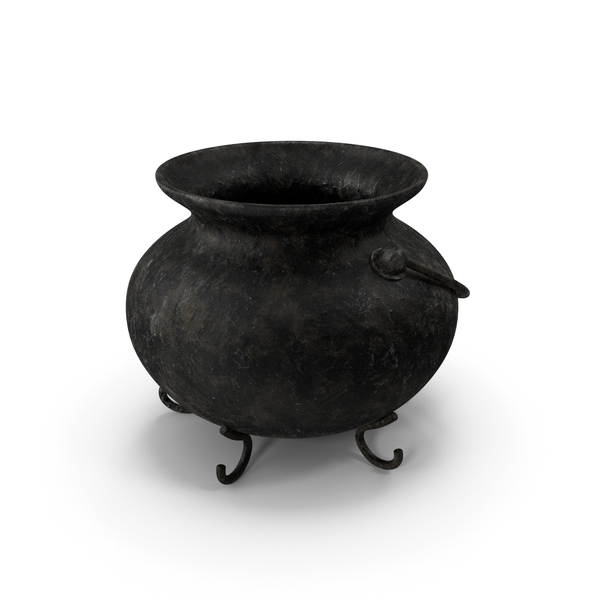 Pot Old Metal PNG & PSD Images