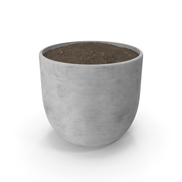 Pot White PNG & PSD Images