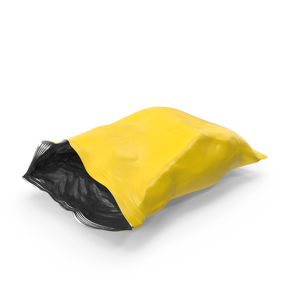 Potato Chip Bag Object